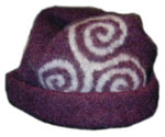 Turnip House Shop :  fashion triscele hat pre-celtic triscele