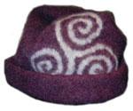 Turnip House Shop :  fashion triscele hat pre-celtic triscele