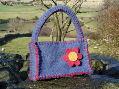 Turnip House Shop :  felt bag bag jazz-bag knitted felt